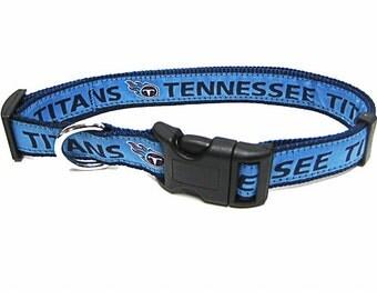 Tennessee Titans Dog Collar