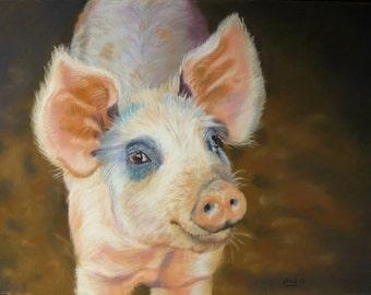 """Limited Edition Print - """"Piggin' Marvelous"""" - A4"""