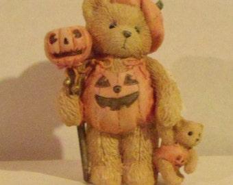 Cherished Teddies Breanna Pumpkin Patch