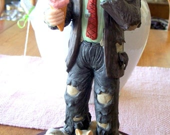 "Vintage Emmett Kelly Jr. ""No use crying"" Figurine"