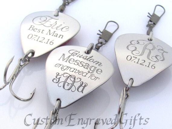 Personalized fishing lure custom fishing lure engraved for Engraved fishing lures