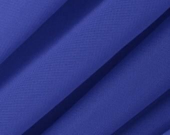 Chiffon Royal Blue Fabric – Sold By The Yard 3010