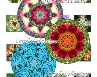 Digitals, Kaleidoscope, Mandalas, Bottle Cap, Circular Art, T-shirt Designs, Quilt Design, Pillows, Textiles, Frame Art, Scrapbooking