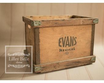 Large Vintage Crate