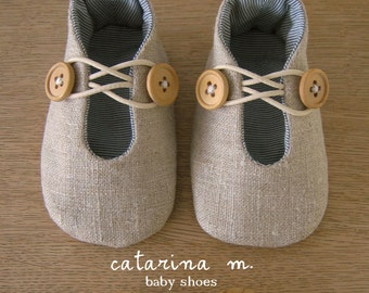 BABY SHOE PATTERN * Model n.1 (+ two variants) * Catarina M. (English-Centimeter+Inches) pdf