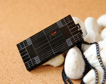 TARS Robot Necklace inspired from Interstellar Movie in Black Color