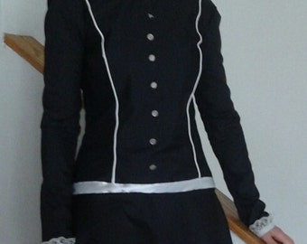 Wednesday Addams costume (Teenager/Women's sizes ONLY)
