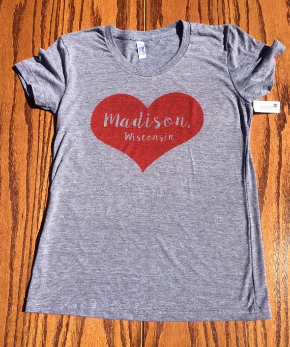 Women 39 s madison wi t shirt for T shirt printing madison wi