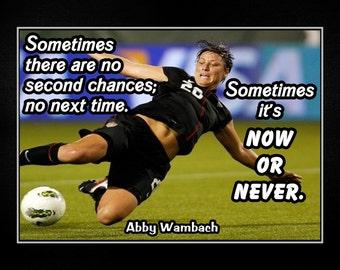Carli Lloyd Quotes Classy Carli Lloyd Girls Soccer Practice Motivation Quote Wall Art