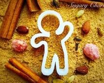 Gingerbread man cup hanger cookie cutter