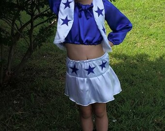 Dallas Cowboy Inspired Cheer Costume