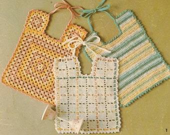 Baby Bibs Crochet Pattern