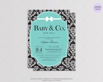 co ed baby shower etsy