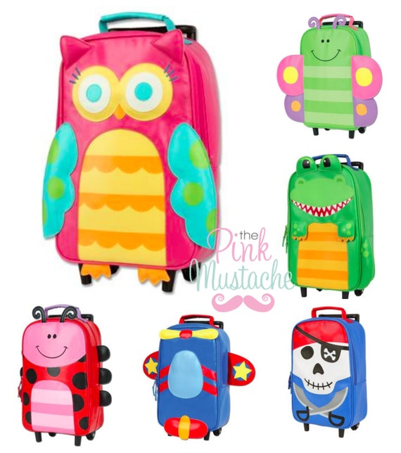 Children's Rolling Luggage/ Rolling Backpack / by ThePinkMustache1