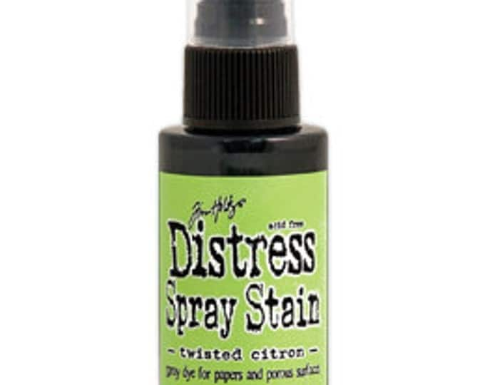 Tim Holtz Distress Spray Stain - TWISTED CITRON - May 2015
