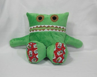 Monster Pajama Eaters - Minky/ Bugs/ Insects/ Pajama Keeper/ Pajama Bag/ Pillow Friend/ Secret Keeper/ Stuffed Toy/ Childrens Gift