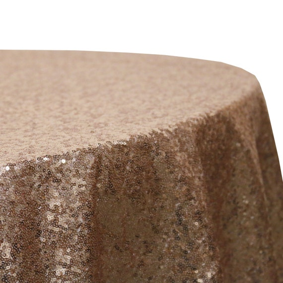 120 inch round glitz sequin tablecloths blush wholesale for 120 inch table runner