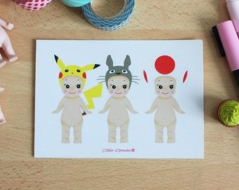 Card - Sonny Angel x Japan Geek