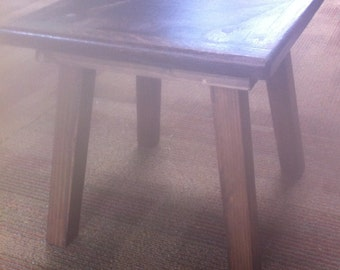 Foot Stool / Occasional Table/ Drink Stand (12 x 12 x 12)