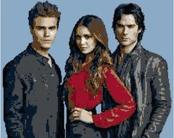 Vampire Diaries Blanket Pattern
