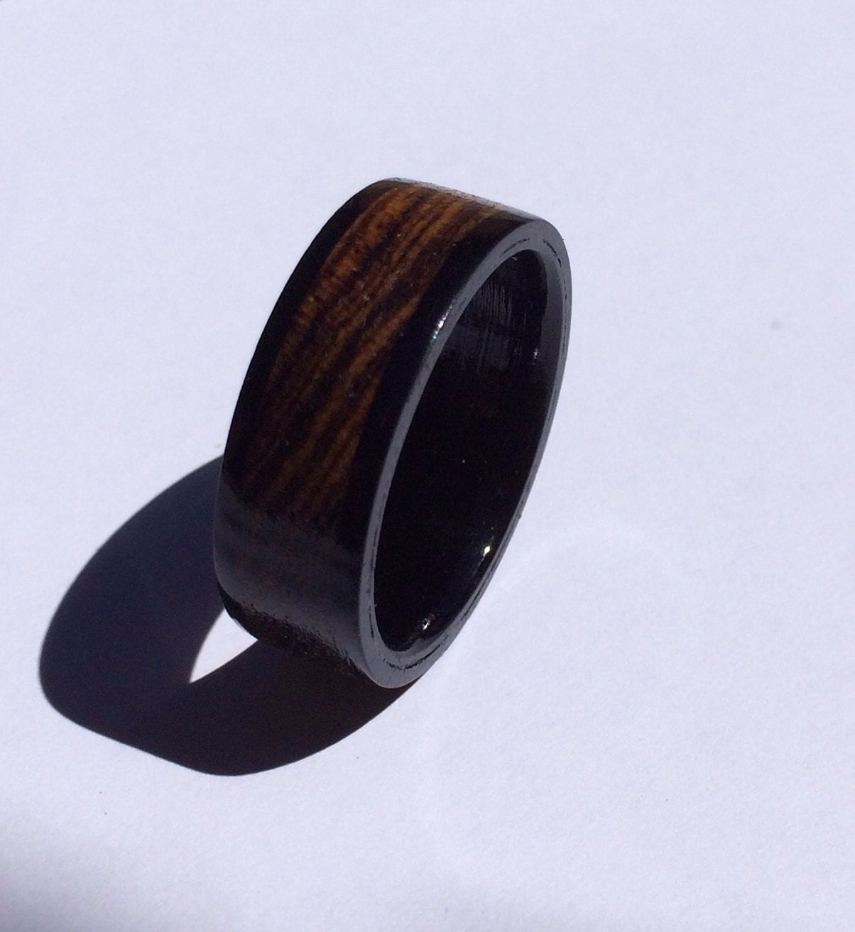 mens wedding band unique mens ring wood ring ring