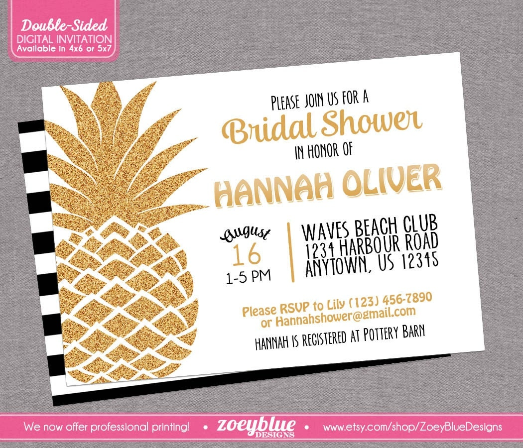 wedding shower invitations hawaiian theme - 28 images - 22 best ...
