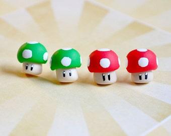 Game Stud Earrings polymer clay