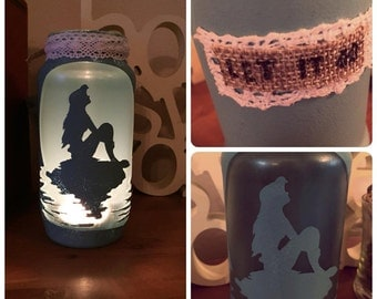 The Little Mermaid candle holder