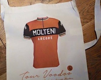 Vintage Style Molteni Cycling Tour De France Tote Bag