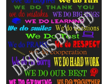 In Our Classroom Wall Art ~ Teacher ~ Teacher Appreciation ~ Back to School