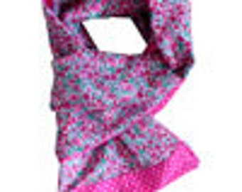 Liberty scarf petal bud pink