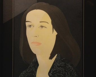 """Alex Katz """"Ada Four TIme 3"""" - 1979 - Signed Lithograph - Framed - See Live at GallArt - Buy/Sell/Trade"""