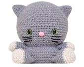 Fat Face Cat Amigurumi Pattern