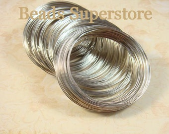 SALE 55 mm Stainless Steel Memory Wire - Nickel Free, Lead Free and Cadmium Free - 30 Loops