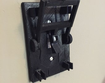 Frankenstein style light switch plate! Turn any room into a mad scientist lab!
