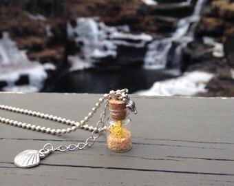Tiny Terrarium Necklace, Terrarium Necklace, Jewelry, Necklace