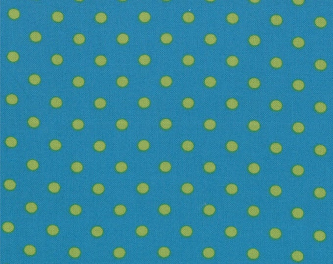 One Yard Bloomin' Fresh - Bloomin' Dots in Dark Blue - Cotton Quilt Fabric - designed by Deb Strain for Moda Fabrics - 19669-17 (W2775)