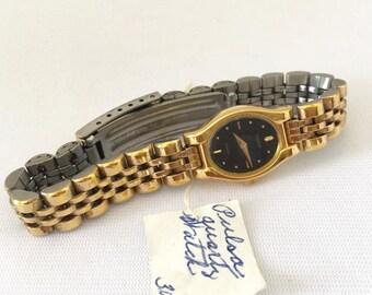 SALE Vintage Ladies Jewelry Pusar Quartz Watch