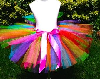 Rainbow Tutu - Girl's Tutu - Kid's Tutu