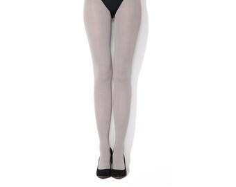 Grey classic tights
