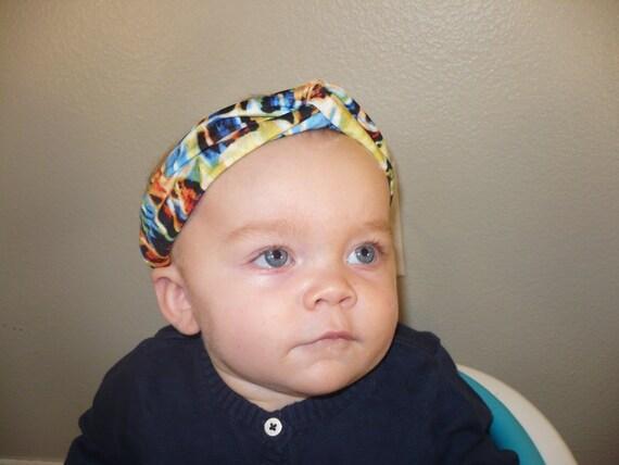 how to make a baby turban head wrap