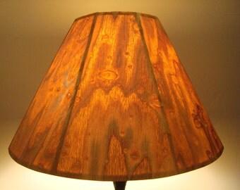 Birch Bark Lamp Shade Rustic Lamps Shades
