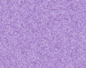 Wisteria Purple Solid Textured Fabric - Quilting Treasures QT Basics Color Blend - 23528 L - 1/2 yard