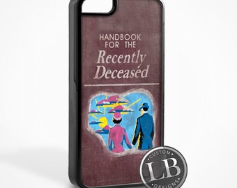iPhone Case - Beetlejuice Handbook for Recently Deceased - 4, 4s, 5, 5s, 5c, 6, 6 Plus Cover - id: 11001