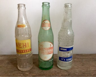 Soda Bottle Collection