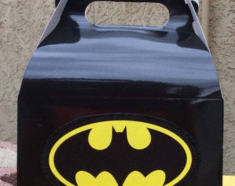 Batman Birthday Favor Boxes -12-