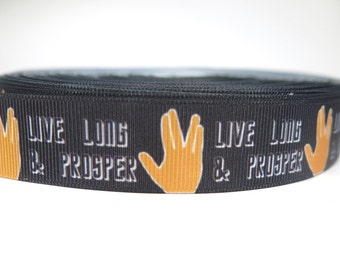5 yards of 7/8 inch grosgrain ribbon