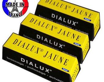 Yellow Dialux Polishing Compound Jaune Rouge 3 Bars Brass Polish WA 417-011-3
