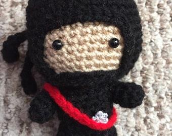Crochet Amigurumi Ninja