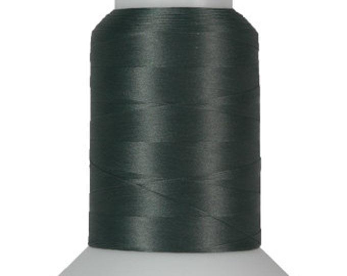 Thread Art - Wooly Nylon Thread - 1000m Spools - Hunter Green  - SKU:THWL9224